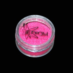 Paillettes Fines Fluo Rose 5gr