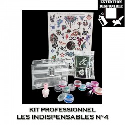 Kit Shiny Tattoo Les indispensables 4