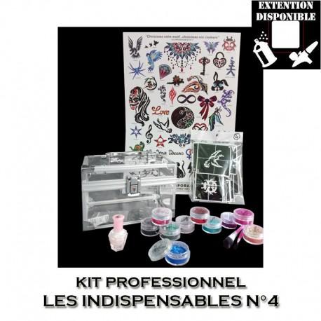 Kit Shiny Tattoo Les indispensables 4