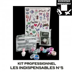 Kit Shiny Tattoo Les indispensables 5