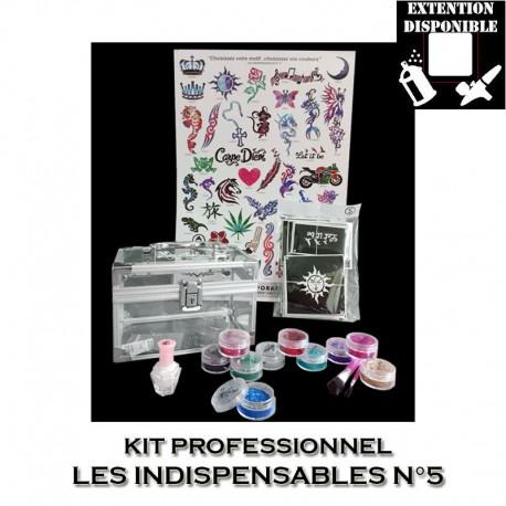 Kit Shiny Tattoo Les indispensables 5
