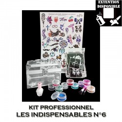 Kit Shiny Tattoo Les indispensables 6