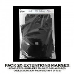 Pack 20 Extentions Marge