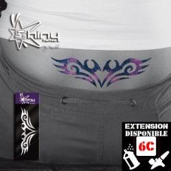 Pochoir Tatouage Temporaire SE Bas dos Tribal 001