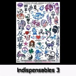 Affiche A3 plastifiée Les Indispensables 3