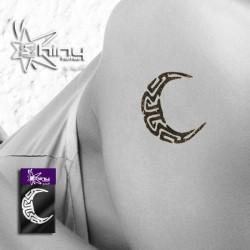 Pochoir Tattoo Lune  004